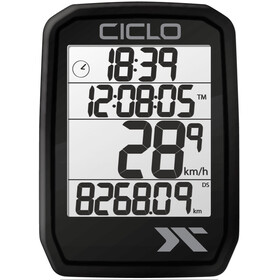Ciclosport Protos 105 Fietscomputer, black